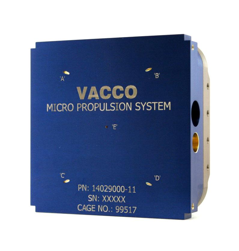 Standard Micro CubeSat Propulsion System | VACCO
